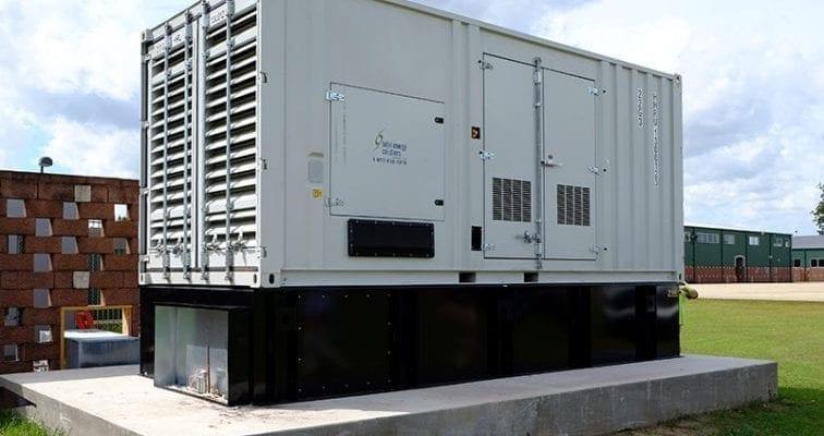 Evacuation-Center-Generators-at-Lamar-Dixon-Expo-Center